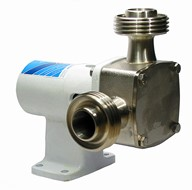 "1"" P40 'Pureflo' Hygienic Self-Priming Flexible Impeller Pedestal Pump"