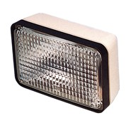 Deck flood light 130mm, 12 volt dc