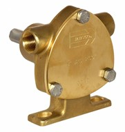 "3/8"" bronze pump, <b>20-size</b>, foot-mounted with BSP threaded ports"